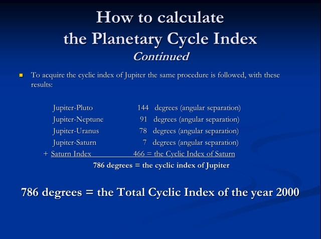 Calculate Index 3