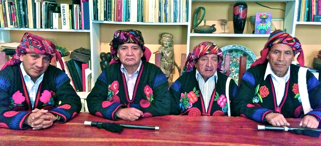 2011 INTO 2012 - THE 1ST DAY of THE NATIVE NEW YEAR Mayan-elders