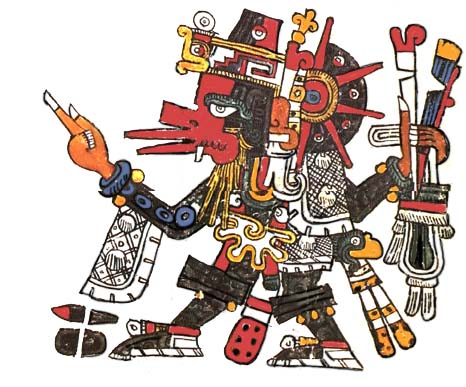 2011 INTO 2012 - THE 1ST DAY of THE NATIVE NEW YEAR Quetzalcoatl_ehecatl