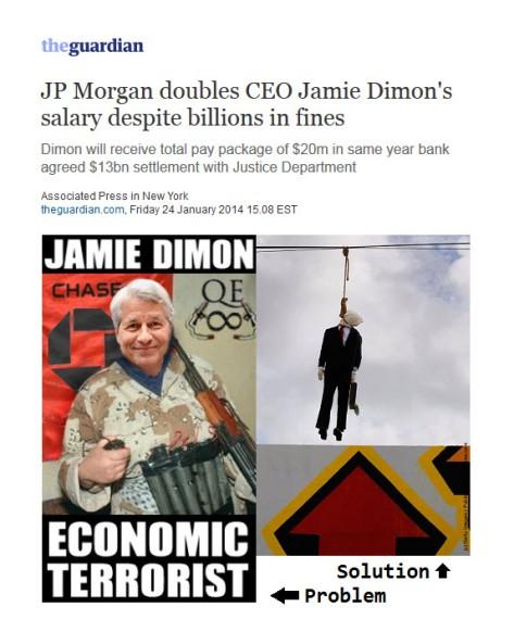 JP Morgan Double CEO Jamie Dimon Salary