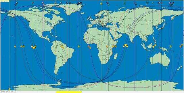 Sun Aries Ingress 2014 Washington D.C ACG Map