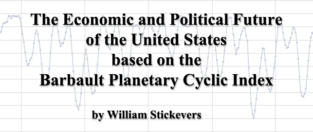 Live Webinar: The Economic and Political Future of the United States based on the Barbault Planetary Cyclic Index by Astrologer William Stickevers | Saturday, March 21, 2015