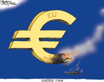 EU - Greece on Fire