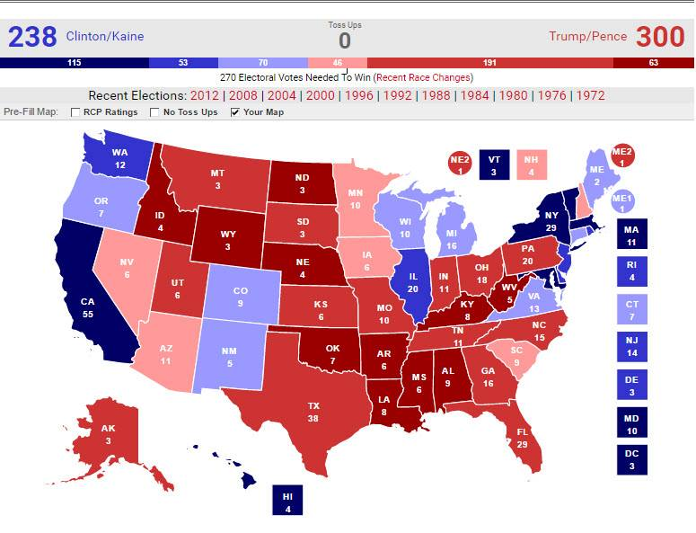 Astrology and Politics: 2016 U.S. Presidential General Election ...