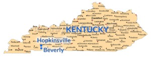 cities-map-of-kentucky_hopkinsville_beverly