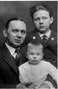 Cayce and his sons Hugh Lynn and Edgar Evans