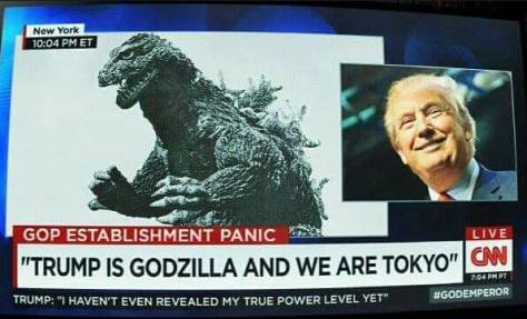 Trumpzilla | William Stickevers, Astrologer | Astrology and Politics