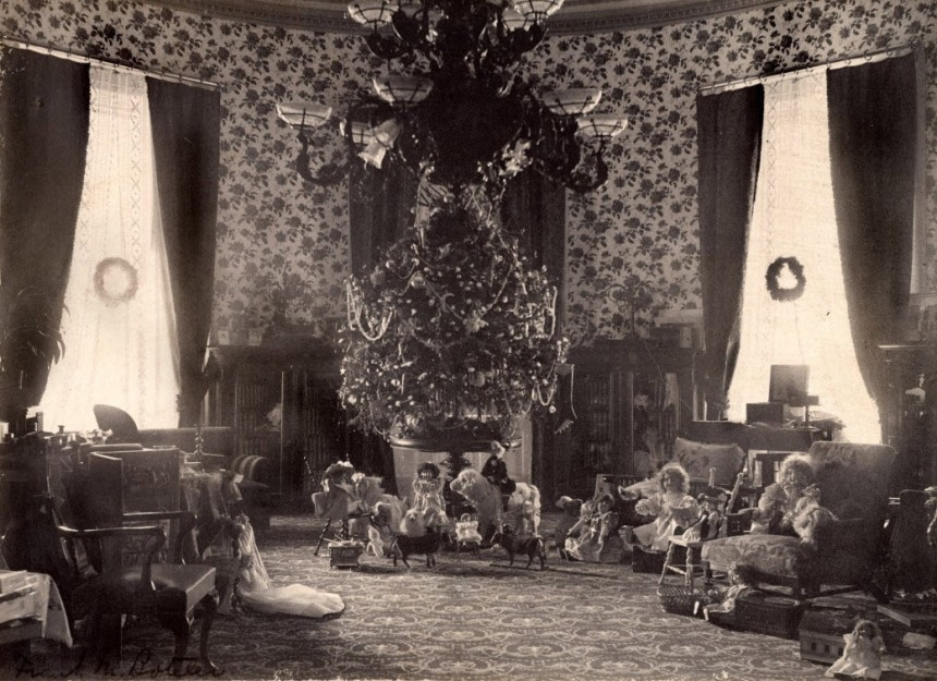The Cleveland Family White House Tree