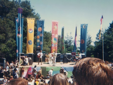 The Doors on the main stage at the Fantasy Fair and Magic Mountain Music Festival