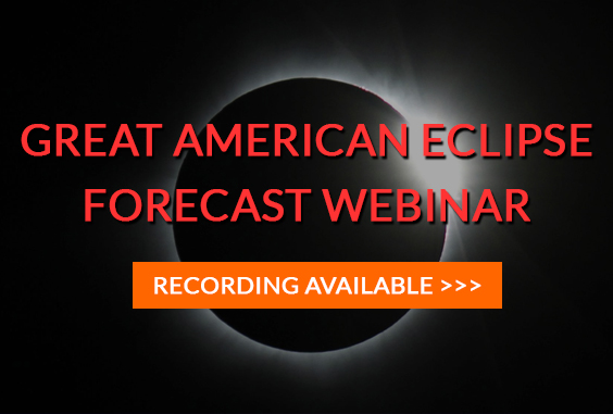 August 21, 2017 Total Solar Eclipse Forecast