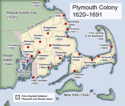 Plymouth Colony 1620-1691