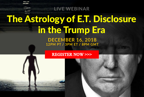 The Astrology of E.T. Disclosure in the Trump Era Webinar