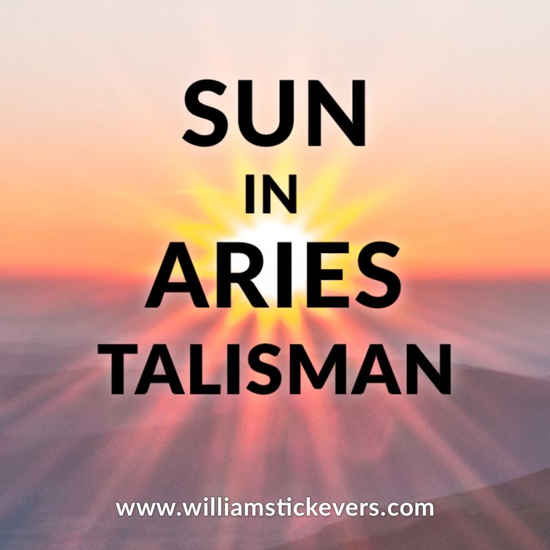 Sun in Aries Talisman