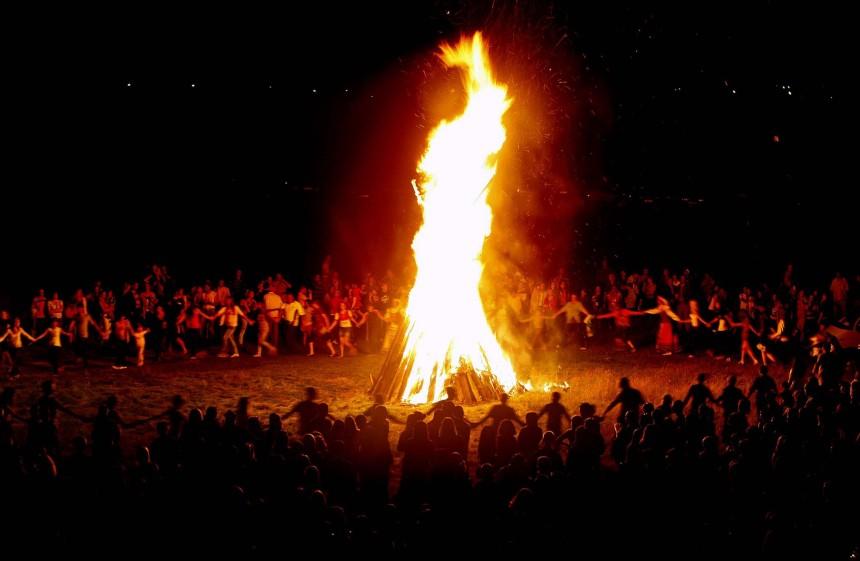Midsummer Bonfire Celebration