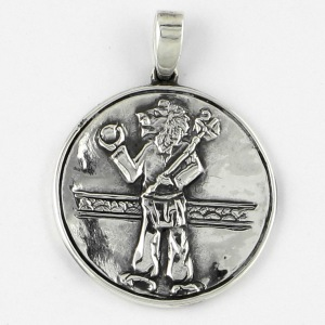 Jupiter-Uranus Metal Talisman by William Stickevers