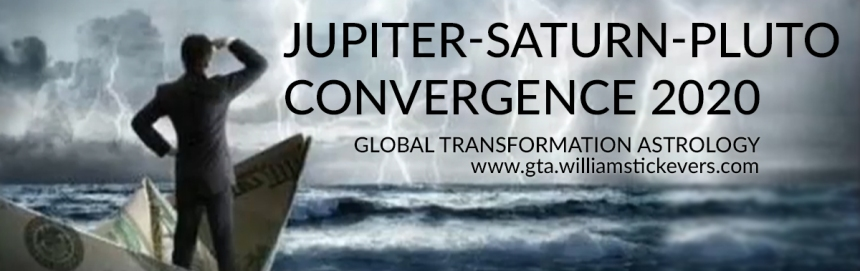Jupiter-Saturn-Pluto Convergence 2020 - Global Transformation Astrology - William Stickevers